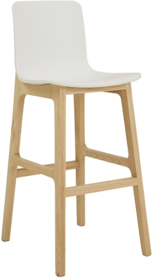 Elite Bill Stool with Beech Leg