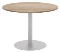 Elite Circular Meeting Table MFC Finish - 800mm