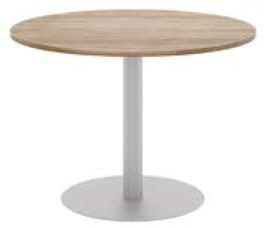Elite Circular Meeting Table MFC Finish (Formally BOM) - 800mm