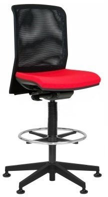 Elite Merge Mesh Draughtsman Chair Without Arms