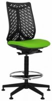 Elite Airflex Draughtsman Chair with Flexible Contoured Back - No Arms