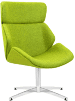 Elite Cascara High Back Fully Upholstered Swivel Chair