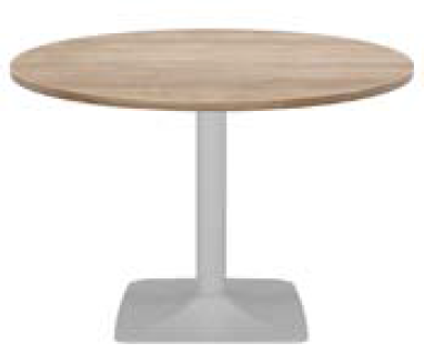 Elite Circular Pyramid Base Meeting Table MFC Finish - 600 x 725mm