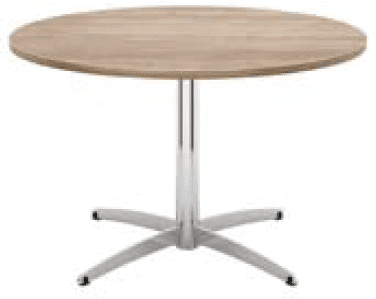 Elite Cascara Circular Meeting Table MFC Finish - 800 x 725mm