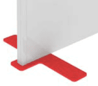 Elite Floor Standing Screen Support Foot - Type 1