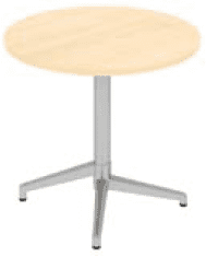 Elite Fliptop Circular Table MFC Finish