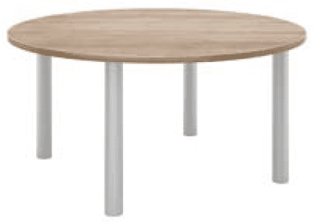 Elite Circular Meeting Table MFC Finish