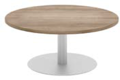 Elite Circular Coffee Table MFC Finish - 1000mm