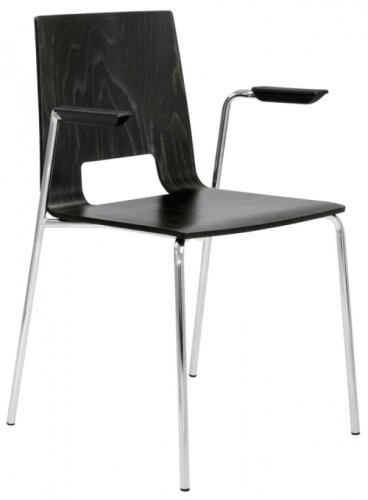 Elite Multiply Breakout Open Back Chair With Arms