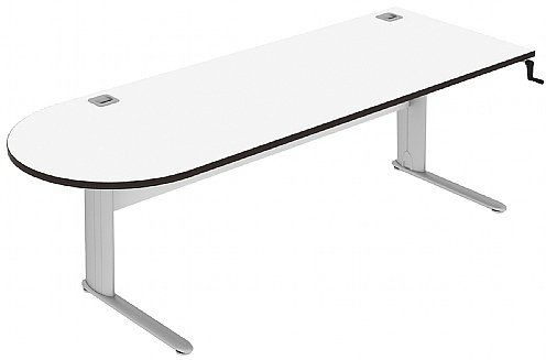 Elite Optima Plus D Ended Height Adjustable Electronic Desk - (w) 2000mm x (d) 800mm