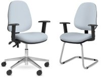 Elite Team Plus Upholstered Operator Chair With 1D Arms
