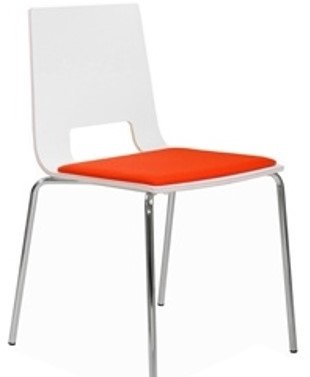 Elite Multiply Breakout Open Back Chair with Upholstered Seat
