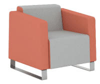 Elite Ella One Seater Full Back Armchair