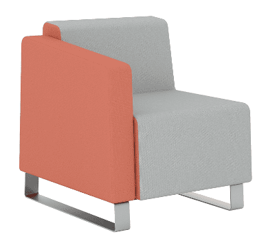 Elite Ella One Seater Left Arm Full Back Chair