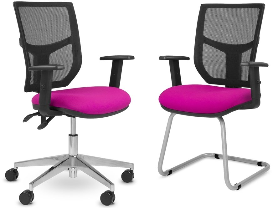 Elite Team Plus Mesh Back Operator Chair With Sliding Seat