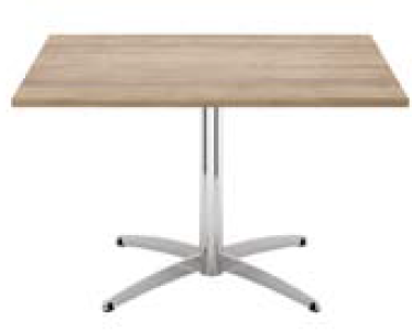 Elite Cascara Square Meeting Table MFC Finish - 800 x 800 x 725mm