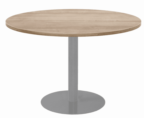 Elite Circular Meeting Table MFC Finish - 600 x 725mm