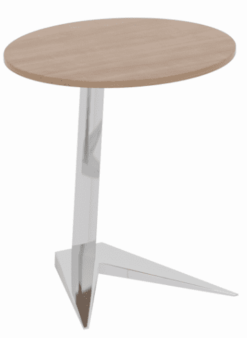Elite Nova Oval Laptop Table