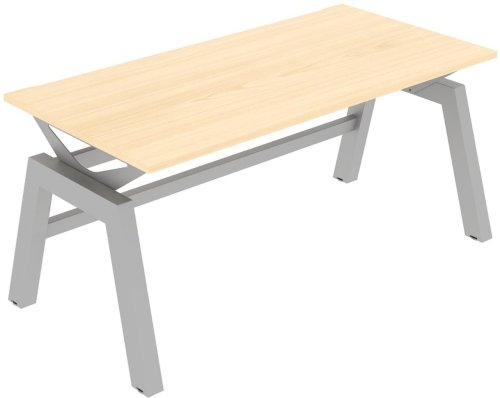 Elite Linnea Elevate Fixed Height Rectangular Desk 1600 x 800mm MFC Finish