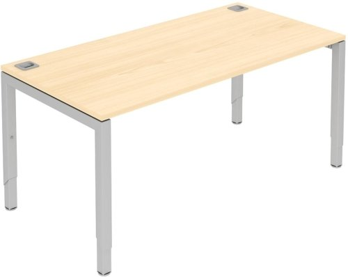 Elite Advance Rectangular Desk - Height Settable MFC Finish 1600 x 600 x 650-850mm