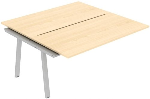 Elite Linnea Double Bench with Shared Inset Leg 1500 x 1200mm