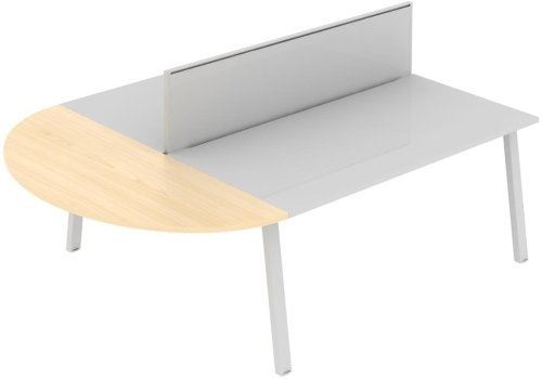 Elite Linnea Curved Extension (for use with screen divider) 1227 x 500mm