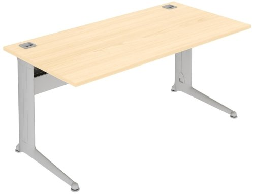 Elite Kassini Rectangular Desk 1600mm - Height Adjustable MFC Finish
