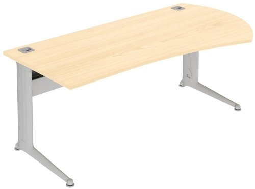 Elite Kassini Radius Executive Desk MFC Finish