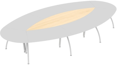 Elite Callisto Segue Conference Table Infill Panel