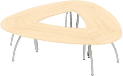 Elite Callisto Segue Meeting Table 2830 x 2755 x 740mm