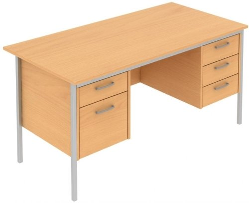 Elite Norton Double Pedestal Desk 1500 x 750mm
