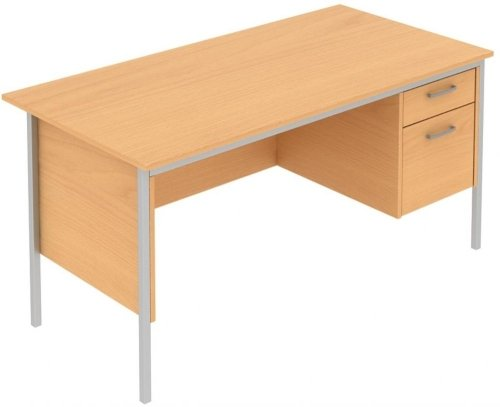 Elite Norton Single Pedestal Desk 1500 x 750mm