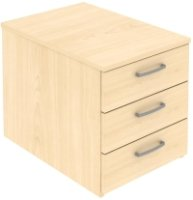 Elite 3 Drawer Low Mobile Pedestal 418 x 600 x 480mm