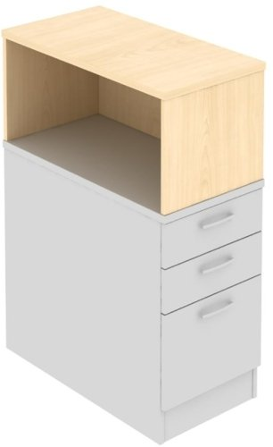 Elite Open Fronted Pedestal Storage Unit 418 x 800 x 375mm
