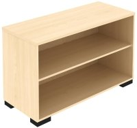 Elite Open Fronted Desk High 1200 x 400 x 740mm Storage Unit MFC Finish