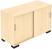 Elite Desk High Storage Unit 800 x 500mm MFC Finish