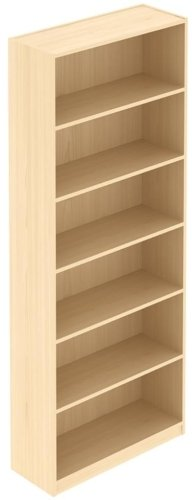 Elite Bookcase MFC Finish - 800 x 300 x 1800mm