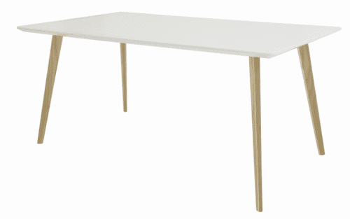 Elite Piazza Rectangular Top Square Wooden Leg Meeting Table - 1600 x 900 x 725mm