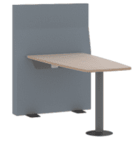 Elite Evo Plus High Back Privacy Panel for One Seater Chair
