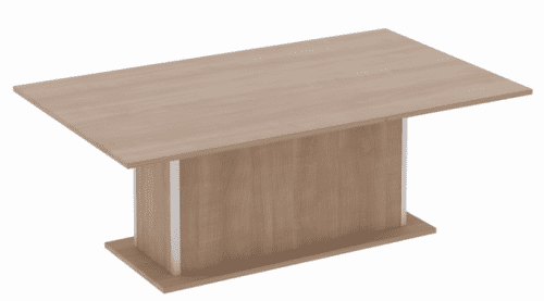 Elite Qube Rectangular Meeting Table MFC Finish 2000 x 1000 x 740mm