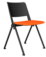 Elite Salto 4 Legged Chair with Upholstered Seat