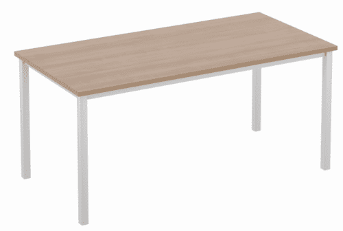 Elite Rectangular Training Table with Square Legs MFC Finish 1400 x 800mm