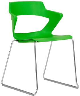 Elite Zen Sled Base Breakout Chair